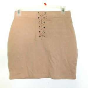 Mauve Mini skirt